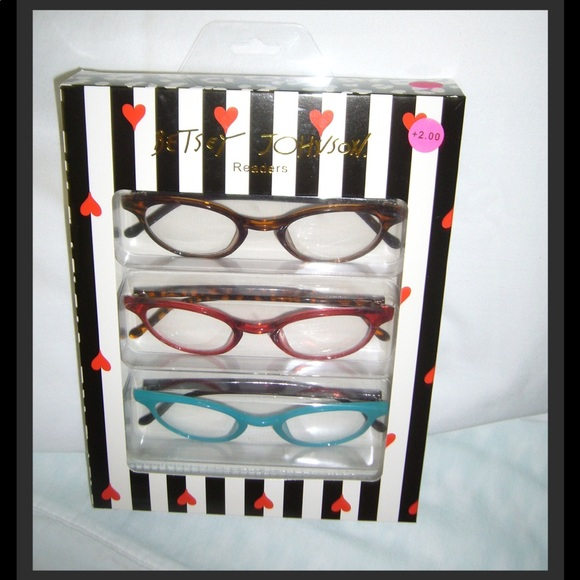 a341f4878656 Betsey Johnson Accessories - ❤ ❤️Betsey Johnson Readers-Glasses 2.00